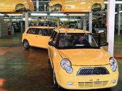 Китайские автокомпании резко снизили сборку в России