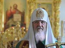 Патриарх Кирилл призывает к миру на Донбассе