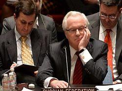 Чуркин: Киев на просьбу Путина о перемирии ответил артобстрелами