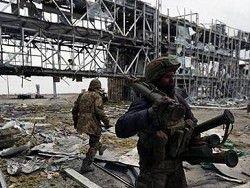 Украинские бойцы покинули аэропорт Донецка
