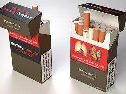Кэмерон хочет убрать изображения с пачек сигарет