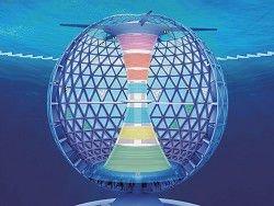 Японция строит город под водой
