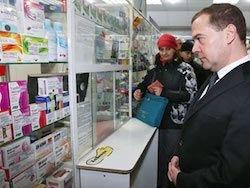 Медведев предрек 20-процентный рост цен на лекарства