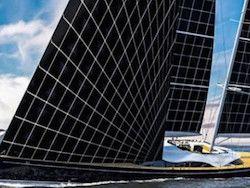 Новость на Newsland: Итальянцы спроектировали яхту на солнечных парусах