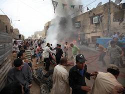 Серия взрывов в Багдаде унесла жизни почти 40 человек