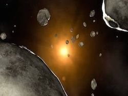 Луна и астероиды на службе у военных