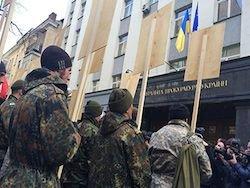 """На """"Марш правды"""" в Киеве вышли несколько сотен человек"""