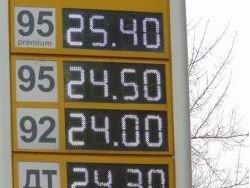 Бензин на Украине дорожает