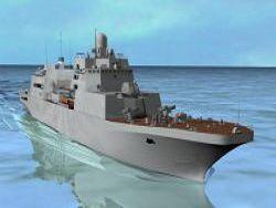 В РФ начато строительство второго десантного корабля