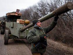 Генштаб Украины заявил о начале отвода тяжелых вооружений