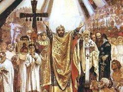Украина  приватизирует  крестителя Руси