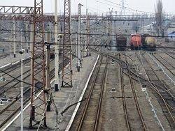 В Харькове подорвали грузовой поезд
