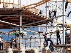 Новость на Newsland: Москва: на ВДНХ откроют огромный веревочный парк