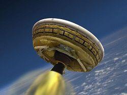 NASA в июне проведёт испытания летающей тарелки