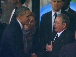 Новость на Newsland: Обама назвал встречу с Кастро историческим моментом
