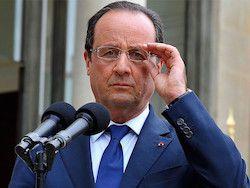 """Олланд рассказал о поисках выхода из кризиса с """"Мистралями"""""""