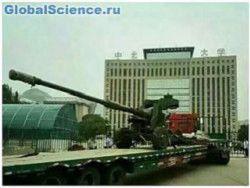 Китайцы создали самую большую танковую пушку