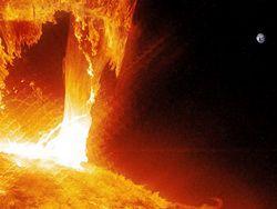 На Солнце зафиксировали вторую крупную вспышку
