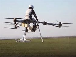 Flike: персональный летательный аппарат с электрическим приводом