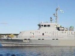 В Калининграде спущен на воду катер для Балтийского флота