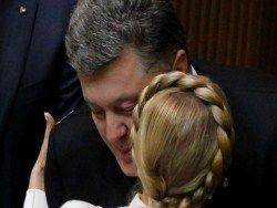 Новость на Newsland: Тимошенко догоняет Порошенко: что влияет на рейтинги?
