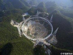 Новость на Newsland: Китай создаст крупнейший в мире радиотелескоп