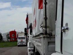 В Донбасс доставлен 36 гуманитарный конвой из России