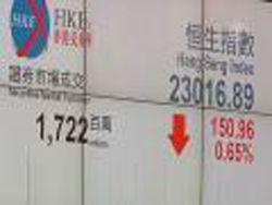 Обвал на фондовых рынках Азии