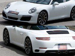Фотошопперы сфотографировали родстер Porsche 911 Targa