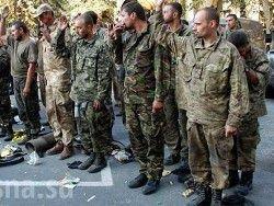Ополченцы передали Киеву четырех пленных волонтеров