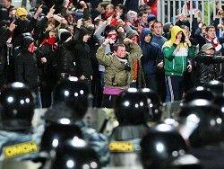 В Киеве задержали более десятка футбольных ультрас