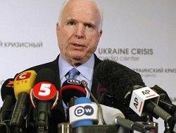 Как сенатора Маккейна охраняли от латвийских журналистов