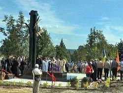 На Харьковщине открыли памятник ликвидаторам на ЧАЭС