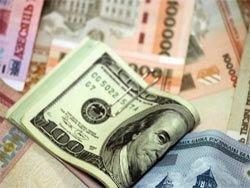 Белорусский рубль падает вслед за российским