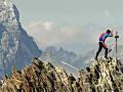 Альпинист покорил пять пиков за 7 часов 45 минут