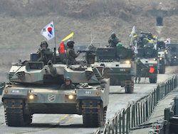 США приостановили учения с Южной Кореей из-за КНДР