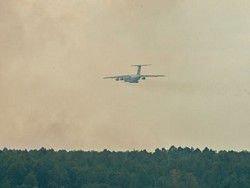 Площадь лесных пожаров в Сибири вновь увеличивается