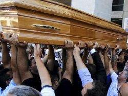 """""""Короля Рима"""" похоронили под мелодию из """"Крестного отца"""""""