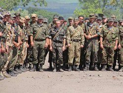 Солдаты ВСУ готовы с оружием идти на Киев