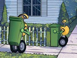 Volvo представила концепцию роботов-мусоросборников
