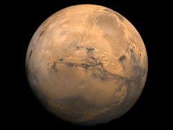 Живая пустыня на Марсе?