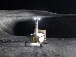 NASA испытывает прототип лунохода для поиска водяного льда