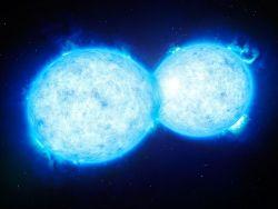 Обнаружена крупнейшая двойная звезда на пороге слияния