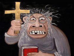 Атеизм стал уголовно наказуем