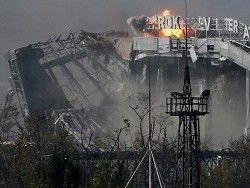 ОБСЕ: в районе Донецкого аэропорта возобновились бои