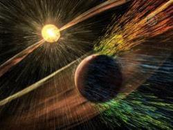 НАСА: атмосферу Марса выдул солнечный ветер