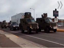 В США протаранен грузовик с ядерной бомбой