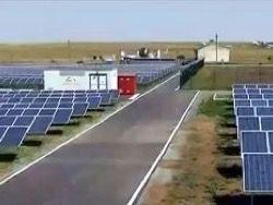 Во Франции открыли крупнейшую в Европе солнечную электространцию