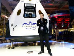 SpaceX попытается произвести посадку ракеты на грунт