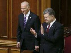 Байден на Украине спасал Яценюка и Порошенко